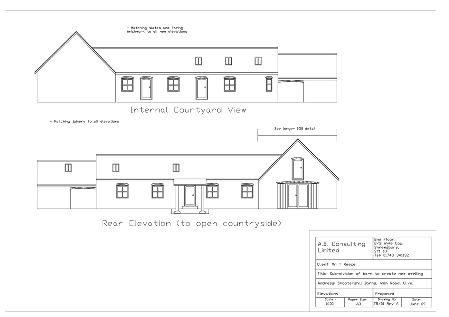 Planning Applications A B Consulting Shropshire