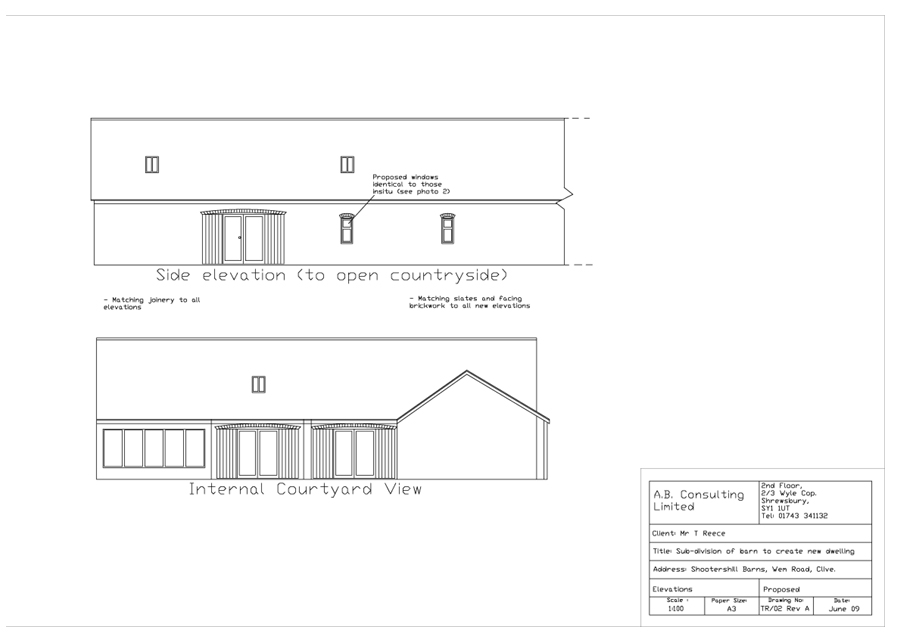 Front Elevation Planning Permission : Side facing windows planning
